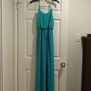 LUSH turquoise dress